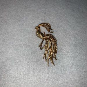 Avon peacock pin/brooch
